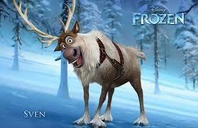 comment sappelle le renne dans la reine des neiges a christophe
