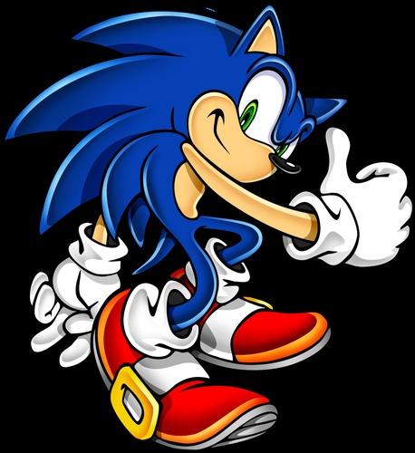 Gambar Kartun Sonic Knuckles: Sonic & Compagnie