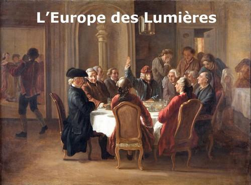 l'europe des lumières 4ème résumé