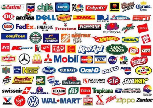Tennis brands logos