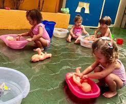 Quando contextos são criados, favorecendo que as crianças imitem, reproduzam fazeres observados socialmente, temos uma situação de :