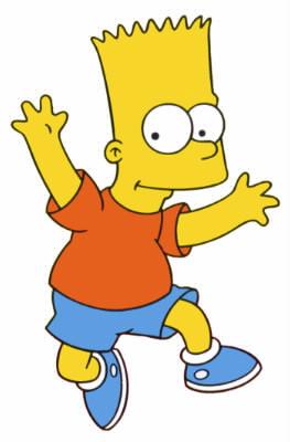Quel accessoire de sport associe-t-on à Bart Simpson ?