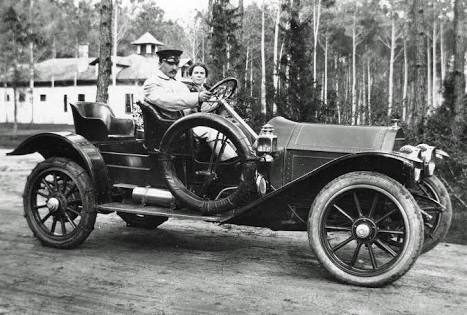Where did the first car was made ?
