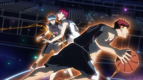 Dans quel état le coéquipier de Kuroko délivre face à Akashi ?