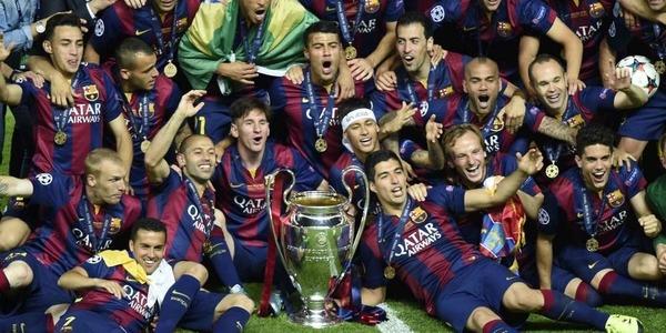 Qui perd la finale de 2015 contre le FC Barcelone ?