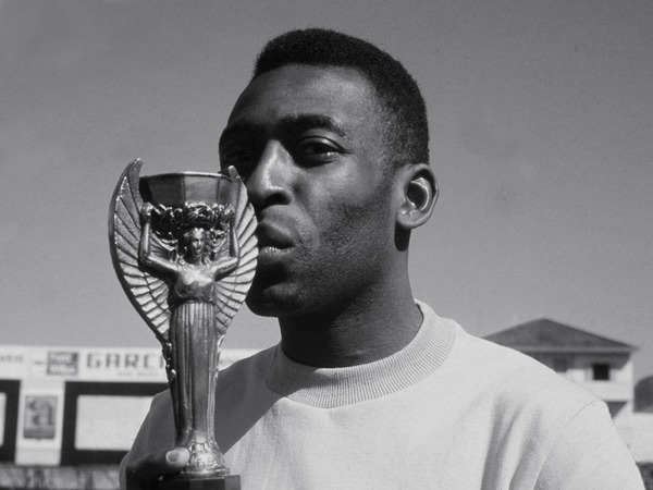 Pelé termine meilleur buteur du Mondial 58.
