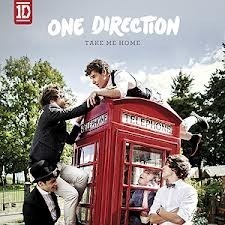Qual a primeira música do álbum Take me Home?