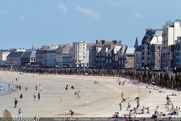 La plus grande plage de Saint-Malo s'appelle :