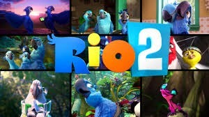 Dans Rio 2, Blu, Perla et leurs enfants vont...