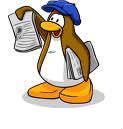 Le journal de Club Penguin est livré chaque :