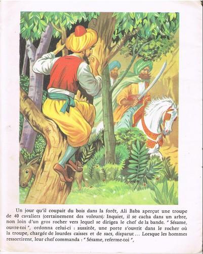 Dans Ali Baba, combien compte-t-on de voleurs ?