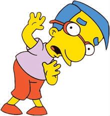 Comment s'appelle l'ami un peu mauviette de Bart Simpson ?