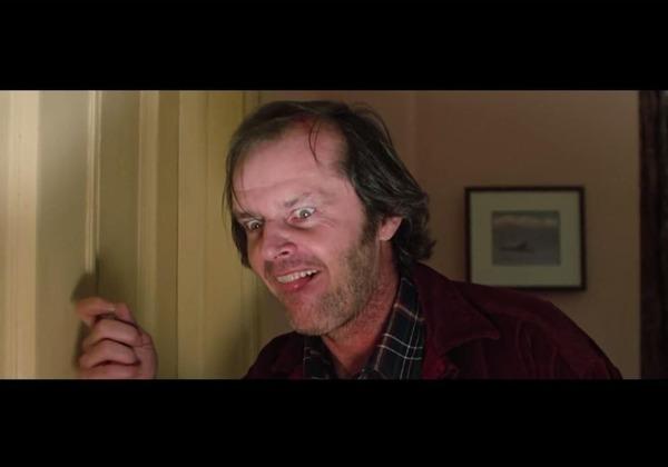 Jack Nicholson dans quel film de Stanley Kubrick en 1980 ?