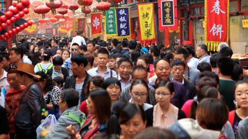 A população chinesa é já de aproximadamente: