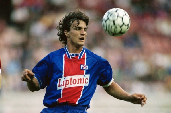 Pour quel club David Ginola a-t-il quitté le PSG en 1995 ?