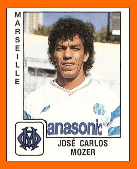 Dans quel club Carlos Mozer évoluait-il avant de signer à l'OM en 1989 ?