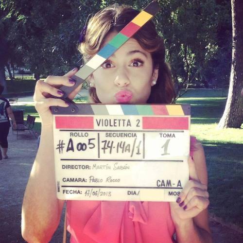 Kada je Violetta/Martina prvi puta glumila ?