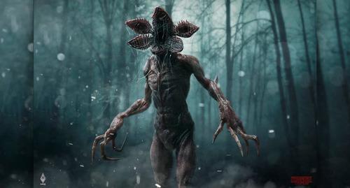 Comment appelle-t-on le monstre de la série ?