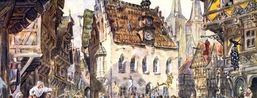 Viduslaiku pilsēta nav iedomājama bez publiskā nama. Tāds ir pieminēts arī «Livonijas slazdā». Kā jums šķiet, kam tāds piederēja 13.gadsimta Rīgā?