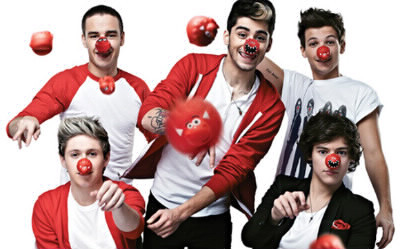 Comment s'appelle leur chanson pour l'association Red Nose Day ?