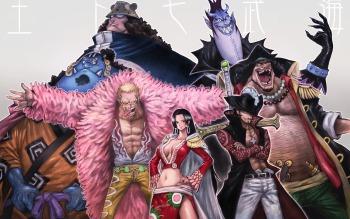 Combien de Grands Corsaires compte One Piece ( y compris ceux révoqués ) ?