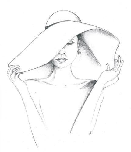 """[Québec] Votre soeur a acheté ce matin un très joli chapeau. D'ailleurs, on dit parfois d'elle qu'elle """"parle à son chapeau"""". Que signifie cette expression?"""