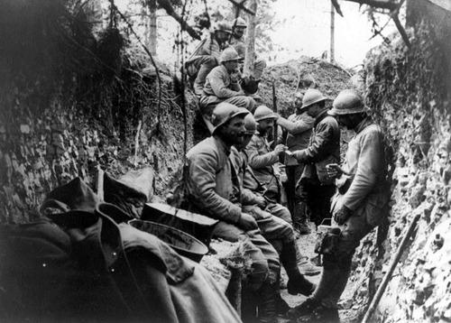 La vie dans les tranchées était plutôt agréable pour les soldats ?