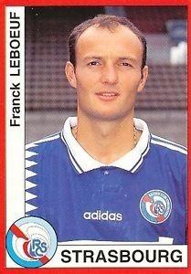 Le RC Strasbourg est le seul club français de la carrière de Franck Leboeuf.