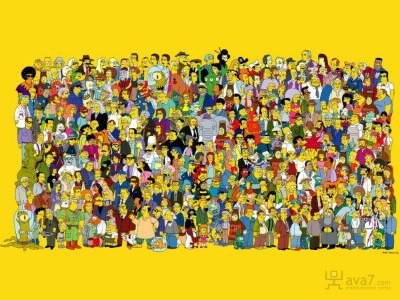 Combien de membres compte la famille Simpson ?