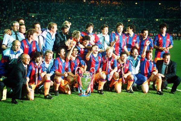 Qui perd la finale de 1992 contre le FC Barcelone ?