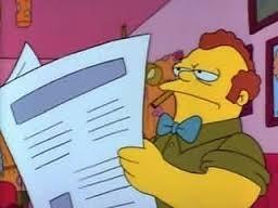 Voici Clancy Bouvier, le père de Marge. Est-il déjà apparu dans la série animée ?