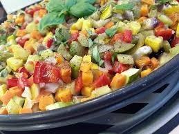 Des légumes coupées en dés de deux millimètres, c'est la préparation :