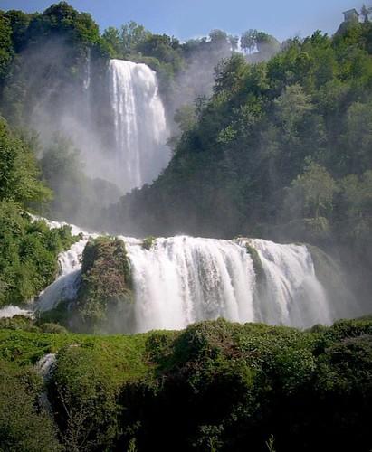 Le bellissime cascate sono le cascate delle...