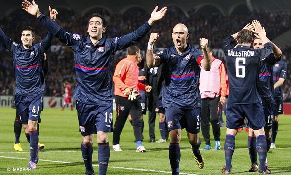 En 2010, quel club français les lyonnais éliminent-ils de la Champions League ?
