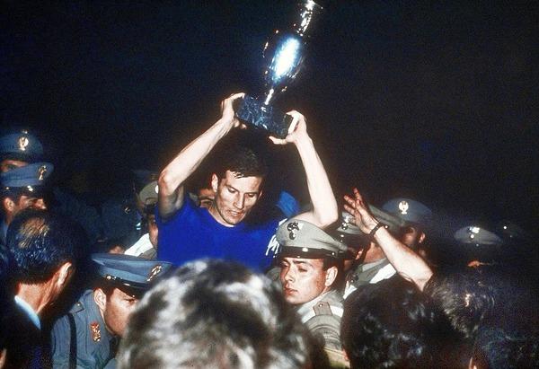 Quelle est la particularité de la victoire italienne de 68 ?