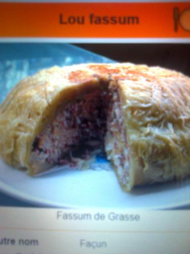 """Le""""LOU-FASSUM"""" est une spécialité culinaire de quelle ville?"""
