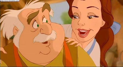 Comment s'appelle le père de Belle ?