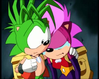 La soeur et le frère de Sonic le hérisson s'appellent: