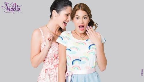 Violetta'nın dizide en yakın arkadaşı kimdir?
