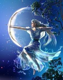 Dans la mythologie romaine, quelle déesse est celle de la Chasse et de la Lune ?
