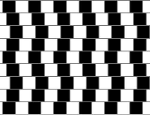 Ces lignes sont-elles penchées ?
