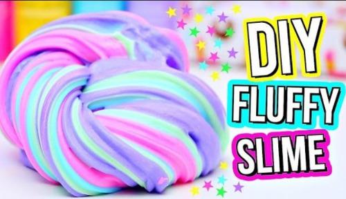 Comment faire du Fluffy slime ?