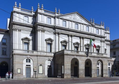 Qual o nome deste famoso Teatro Italiano ?