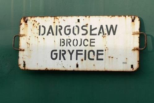 W którym roku Dargosław otrzymał połączenie kolejowe z Gryficami ?