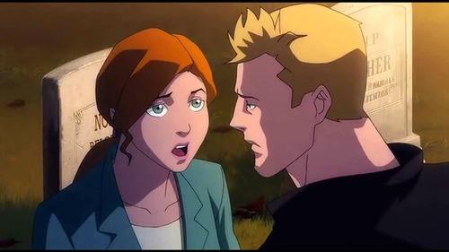 Comment s'appellent les deux enfants que Flash va avoir avec Iris ?