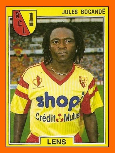 Dans quel club Jules Bocandé n'a-t-il jamais joué ?