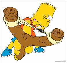 Bart a toujours quoi avec lui ?
