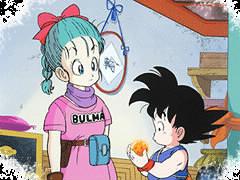 Quand Sangoku rencontre pour la première fois Bulma, de quoi l'insulte-t-il ?