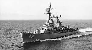 Where did Vietnamese ship throw a torpedoes on an American ship ?