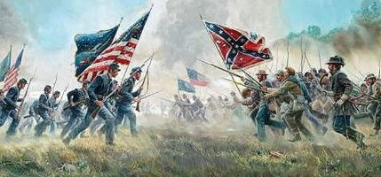 Civil war : South of the usa was ...